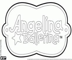 angelina ballerina coloring pages printable games