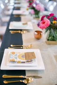 beautiful place settings for your reception or wedding registry