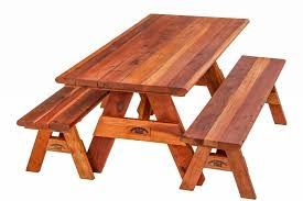 Redwood Picnic Tables And Benches Tables Planters U0026 Lumber For Home U0026 Garden Redwood Northwest