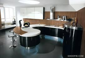 curved kitchen island designs curved kitchen island kitchen enchanting modern curved kitchen
