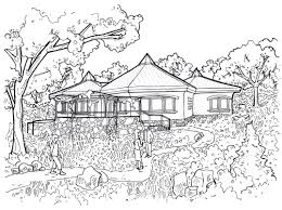 hot springs retreat communitecture architecture planning design straw bale and including many unique features such as site harvested lumber earthen wall plaster floors geothermal heating hexagonal floor plans