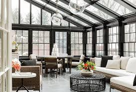 sunroom ideas designs ideas cool contemporary sunroom with wicker furniture