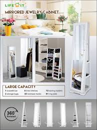Jewellery Cabinets For Sale Bedroom Jewellery Cupboard With Mirror Jewelry Armoire Cyber