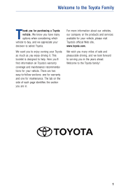 2012 toyota fj cruiser warranty u0026 maintenance