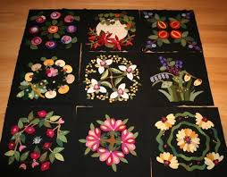 16 best wool images on wool quilts wool applique