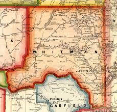 Washington County Maps by Family Researching In Columbia County Washington
