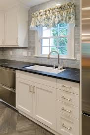Rohl Pull Out Kitchen Faucet by Modern Kitchen Remodel With Elmwood Cabinets And Wolf Duel Range