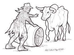 rodeo clown drawing printable rodeo clown drawing coloring sheet