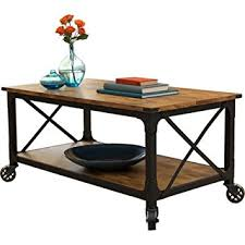 country style coffee table amazon com rustic country style coffee table antiqued black pine