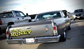 el camino drag car starr kustom paint texas rod lettering since 1977