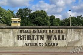 berlin wall sections what is left of the berlin wall after 25 years seetheworldinmyeyes