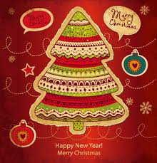 cards for new year christmas new year cards free vector 20 221 free vector