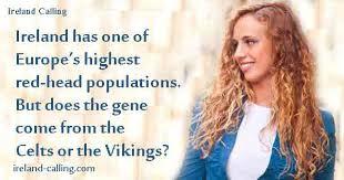 viking anglo saxon hairstyles vikings or celts bring red hair gene ireland calling