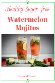 Party Pitcher Cocktails - healthy watermelon mojitos recipe drink drink recipes and