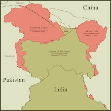 Map Of China And India by Maps Of Strange Borders Flickr