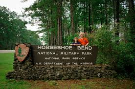 Alabama national parks images One state two boys horseshoe bend national military park jpg