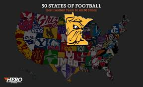 Minnesota State Flag The Best College Football Team In Every State Regardless Of