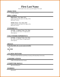 Sample Staff Nurse Resume by Resume 3 Job Resume Format For College Attendance Sheet Download