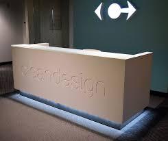 Corian Reception Desk Unique Reception Desks Unique Reception Stations Unique Concepts