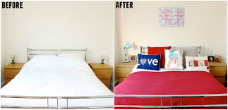 Bedroom Before And After Makeover - moving home bedroom makeover rebecca coco