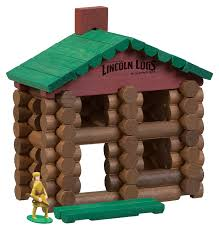 Cracker Style Log Homes Amazon Com Lincoln Logs Classic Edition Tin Toys U0026 Games