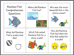 let u0027s talk the rainbow fish speech stuff pinterest