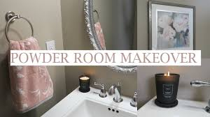 powder room decorating ideas for your bathroom camer design blush powder room makeover shop decorate with me bathroom