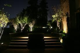 Lighting Landscape Landscape Lighting On Bush On Home Design Ideas With Hd