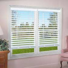 How To Shorten Blinds From Home Depot Corded Vinyl Mini Blinds Mini Blinds The Home Depot