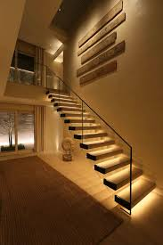 stair ideas indoor stair lighting catchy staircase lighting ideas properly to
