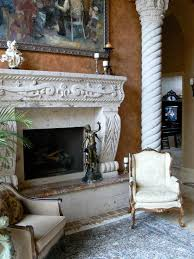 Caledon Fireplace A Cantera Fireplace And Column Fireplaces Pinterest Columns