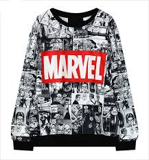 marvel comic sweatshirt u2013 top notch products any marvel fans here