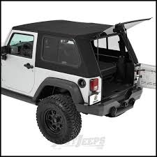 jeep parts buy bestop trektop pro hybrid soft top with tinted