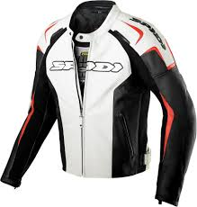 sport motorcycle jacket 429 09 spidi sport mens track leather jacket 218079