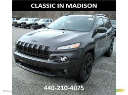 2017 jeep altitude black 2017 granite crystal metallic jeep cherokee high altitude 4x4