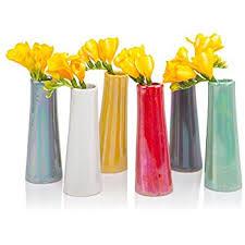 yellow vase chive pooley 2 unique rectangle ceramic flower