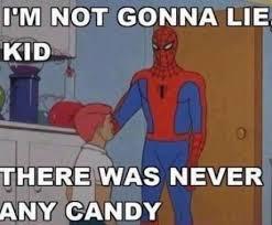 Retro Spiderman Meme - lol retro spiderman lipstick alley