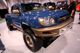 concept off road truck sema tacoma concept 4 cyl solid axle pirate4x4 com 4x4 and