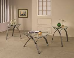Glass Modern Coffee Table Sets Glass Top Coffee Table Sets