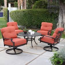 Remove Rust From Outdoor Furniture by Belham Living San Miguel Cast Aluminum 7 Piece Patio Dining Set