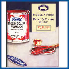 model a ford paint u0026 finish guide model a ford buy online
