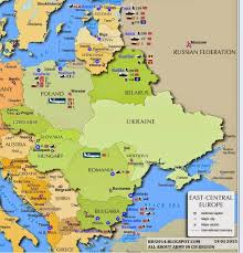Eastern European Map by Nato Bases In East Europe Armed Forces In Eurasia