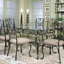 glass dining room sets fabulous rectangular glass dining table set wescot rectangular