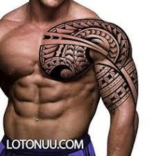 tribal polynesian chest designs