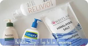 saloca in wonderland helloskin shop top to toe pampering