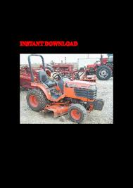 kubota b2400 hse tractor illustrated master parts manual instant down u2026