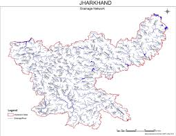 India River Map by Jharkhand Rivers Profile Sandrp