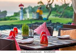 Casual Table Setting Restaurant Table Setting Stock Images Royalty Free Images