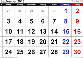 september 2018 calendar with holidays uk monthly calendar template