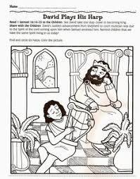 david and jonathan friendship coloring david and jonathans